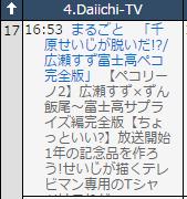 番組表 (c)テレビ王国