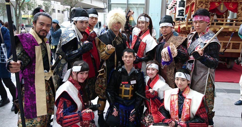 2017/5/3 浜松まつり 浜松徳川武将隊と共に