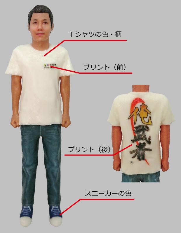 メメント「Tシャツ」カスタマイズポイント