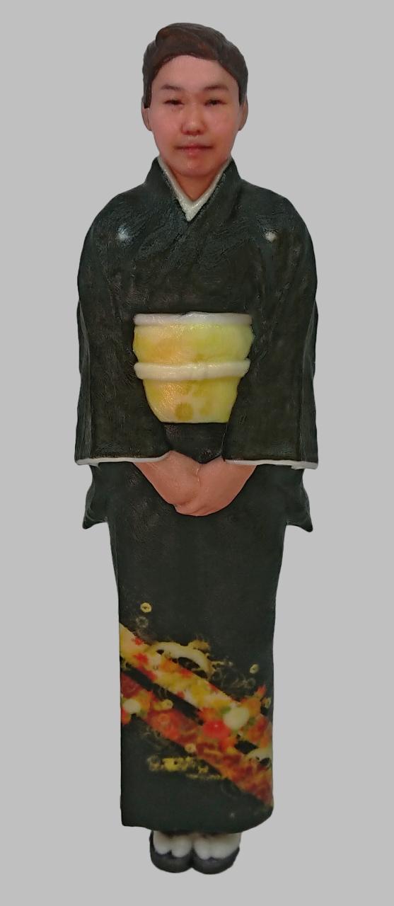 顔ハメ3Dフィギュア メメント「留袖」