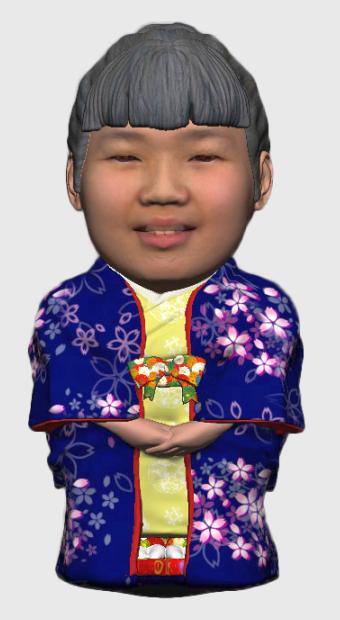 ちび姫 打掛モデル サンプル画像